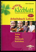 Streicher-Kleeblatt, Arbeitsbuch für Lehrer